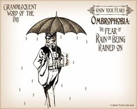 Ombrophobia- Fear of Rain