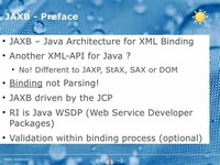 Java ​Architecture for XML Binding​
