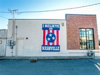 I BELIEVE IN NASHVILLE Mural Art