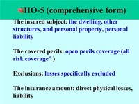 HO-5 — Comprehensive Form