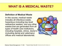 Medical/Clinical Waste