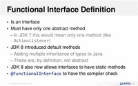 Functional Interfaces and Lambda Expressions