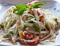 Som Tum (Spicy Green Papaya Salad) Add to Trip!