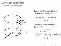 Cylindrical and Spherical Coordinate Systems