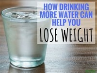 Drink Water a Half Hour Before Meals