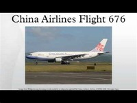China Airlines ​Flight 676​