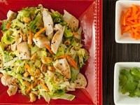 "Chinese Chopped Chicken Salad With ""Wok"""