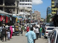 Kariakoo Market. One of the Busiest and Most Thrilling Markets in Dar Es Salaam is the Local Kariakoo Market