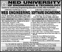 NED ​University of Engineering and Technology​