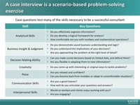 Problem Solving or Case Interview