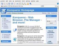 Linux Browsers: Konqueror and Epiphany