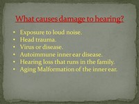 Exposure to Loud Noise