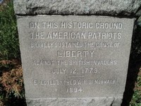 Battle of the Rocks Monument, Norwalk, CT 06851,