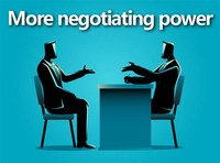 More Negotiating Power