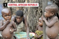 Central African Republic - $652 per Capita per Year