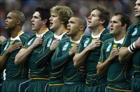 South Africa ​National Rugby Union Team​