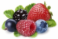 Fruits, Such as Blueberries and Strawberries