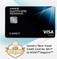 Chase Sapphire Reserve®: Travel