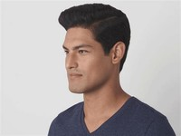 #3: Traditional Brush-Cut Hairstyle