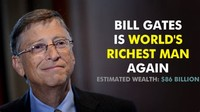 Bill Gates: $86 Billion