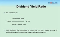 5) Dividend Yield