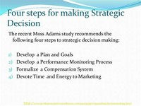 Routine and Strategic Decisions: