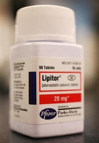 Lipitor, a Cholesterol-Lowering Statin Drug -- $7