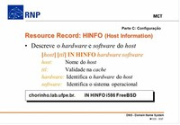Host Information Records (HINFO)