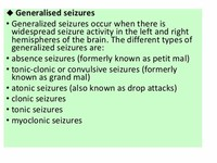 Atonic Seizures (Also Known as Drop Attacks)