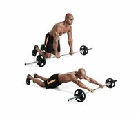 Barbell Ab Rollouts
