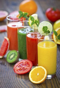 Fruits And Veggie Smoothie