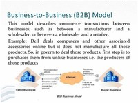 Business - to - Business (B2B)