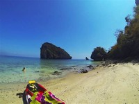 We Kayaked to Chicken Island and Found our own Private Beach – one of the Best Things to do in Ao Nang.