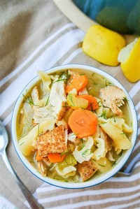 Chicken and Dill Soup