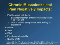 Other Musculoskeletal Pain