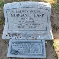 Morgan Earp's Grave Site