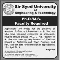 Sir Syed ​University of Engineering and Technology​