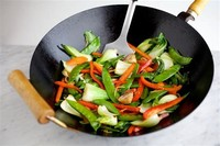 Stir-Frying Veggies