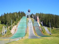 Puijo ski Jumping Hill