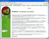 Windows Browsers: K-Meleon
