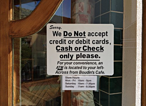 Do Stores Not Accepting Credit Cards Bother You? – Beyond ...