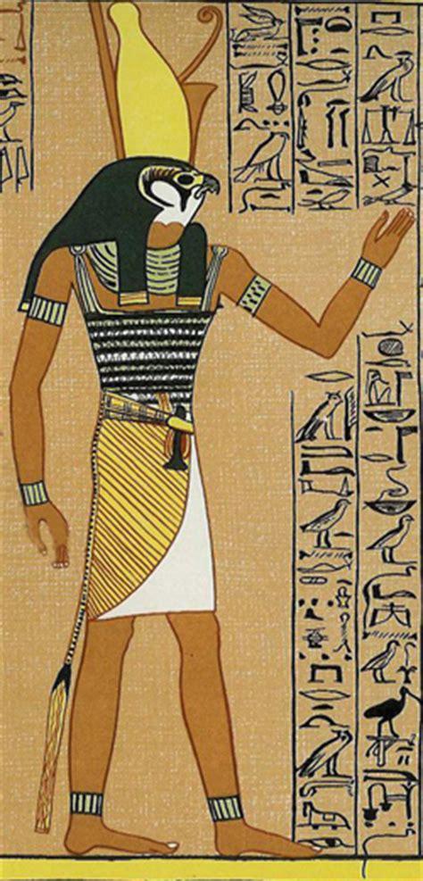Египетский бог гор картинки