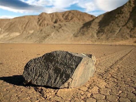Mystery solved: The sailing stones of Death Valley