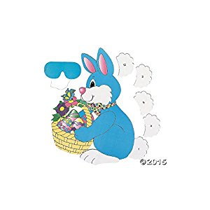 Amazon.com: PIN the TAIL on the EASTER BUNNY/Spring PARTY ...