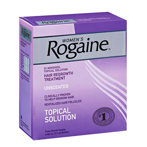 Rogaine for Women 3 Month For Thinning Hair
