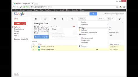 How to Move Google Docs From One Account to Another Using ...