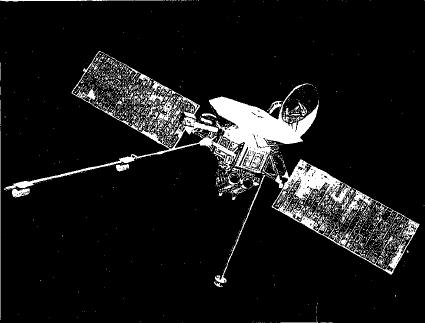 mariner 10 space probe - 580×424