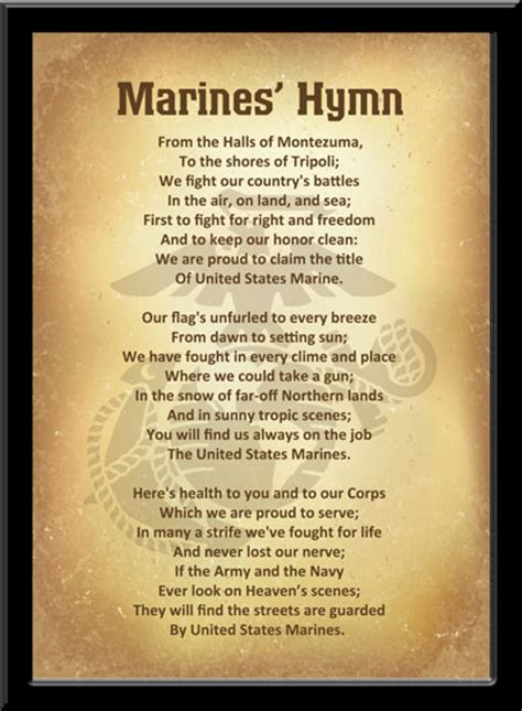 All about Marine Corps Hymn - r18worker info