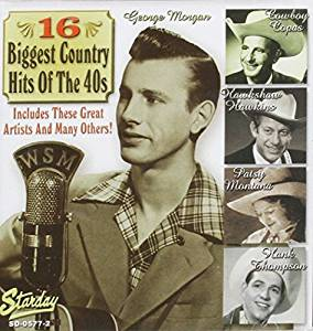 16 Biggest Country Hits 1940's - 16 Biggest Country Hits ...