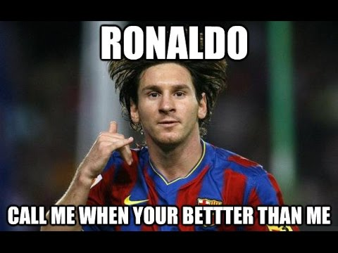 Lionel Messi better than ronaldo! - YouTube